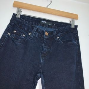 BDG dark denim long skinny jeans 26